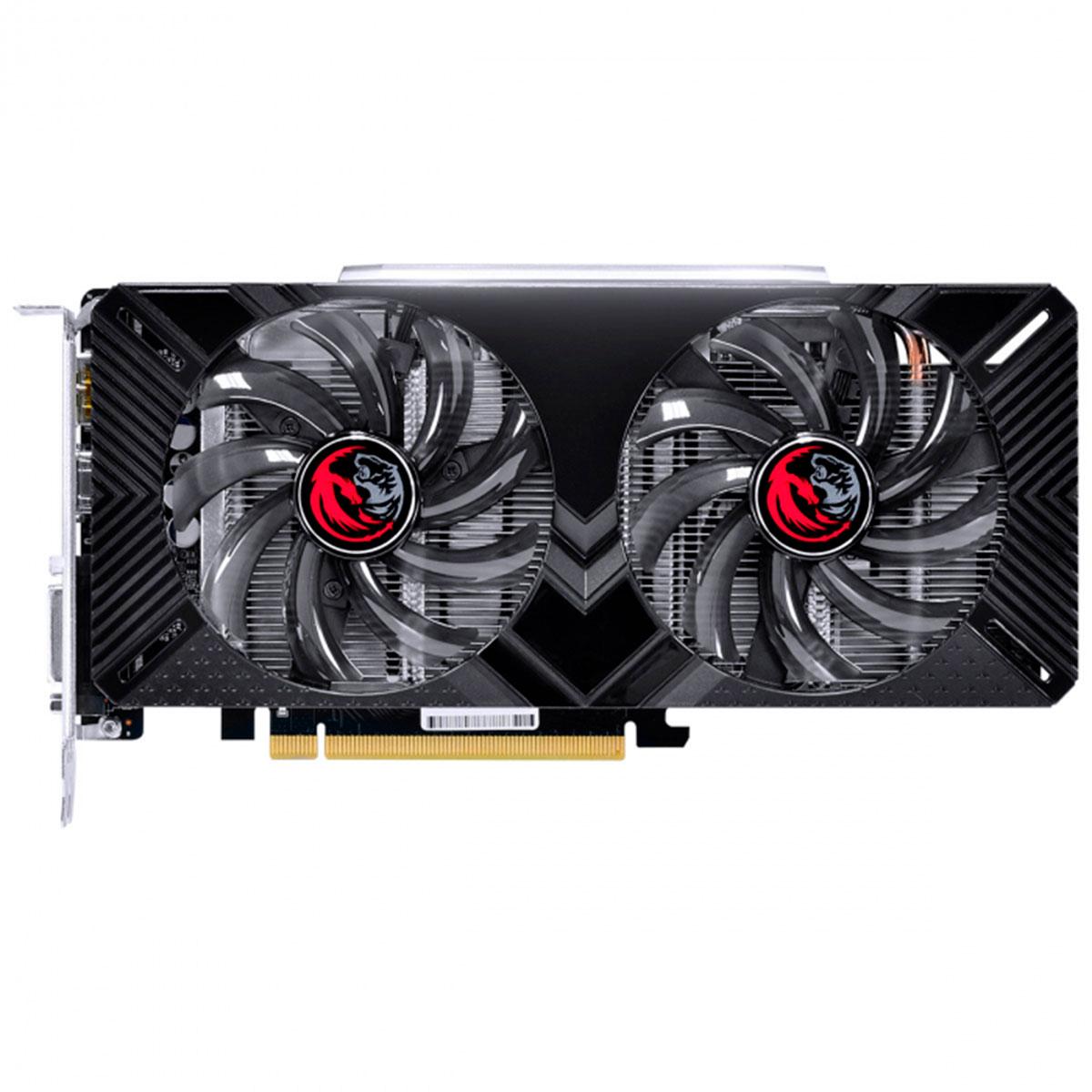 Placa de Vídeo PCYes GeForce RTX 2060 Dual OC 6GB, GDDR6, 192 Bits, Graffiti Series - PPGF2060DR6192