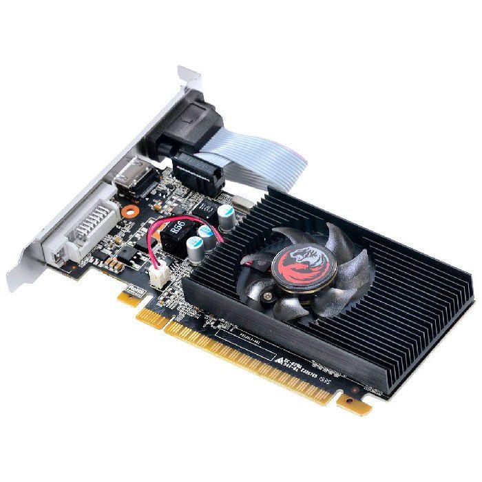 Placa de Vídeo Pcyes GT710 1GB 1333MHz DDR3 64 Bit - PA710GT6401D3LP