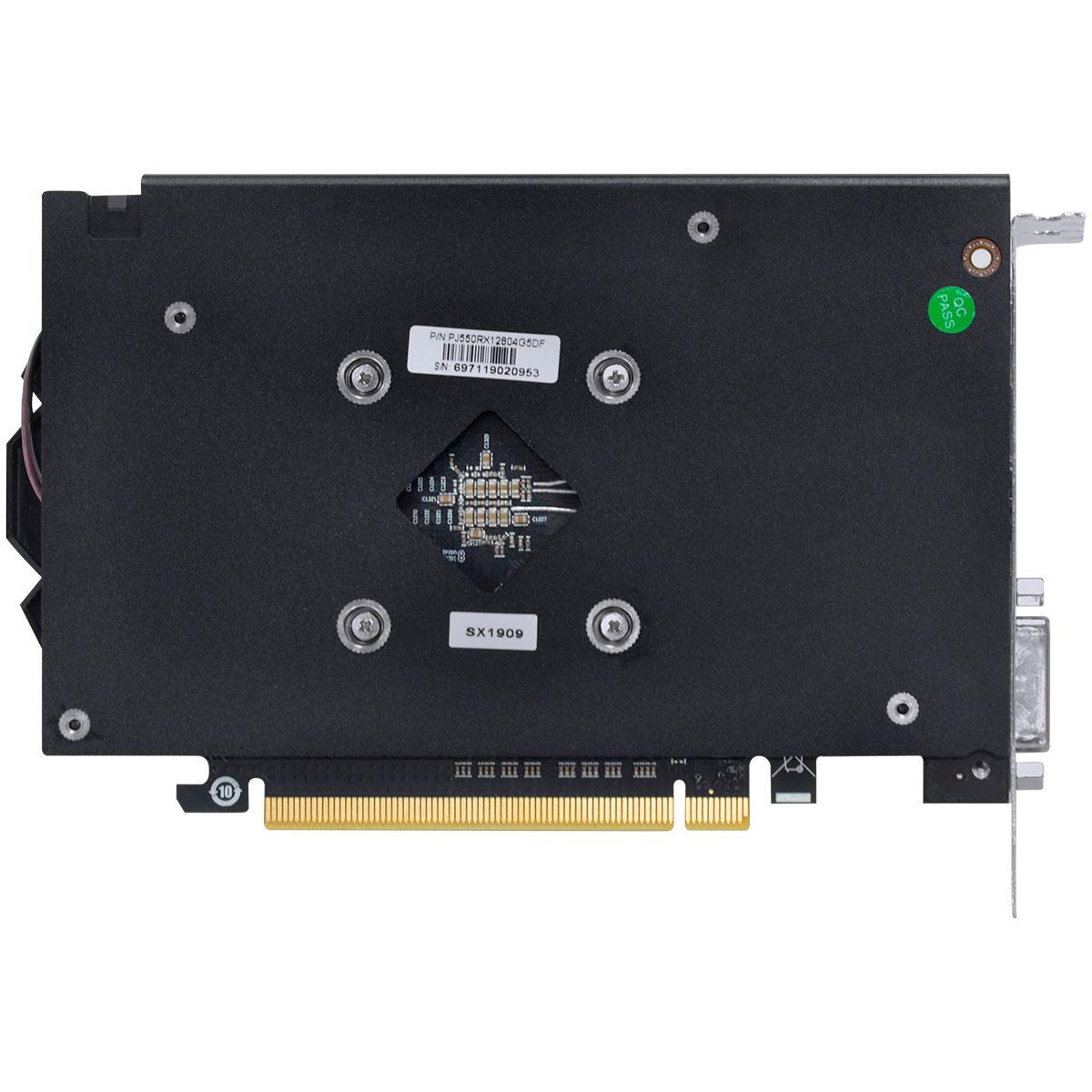 Placa de Vídeo Pcyes RX550 4GB GDDR5 128 Bits Graffiti - PJ550RX12804G5DF