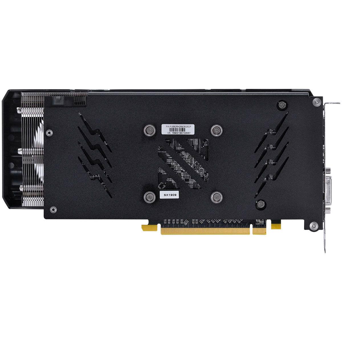 Placa de Vídeo Pcyes RX580 8GB GDDR5 256 Bits - PJ580RX25608G5DF
