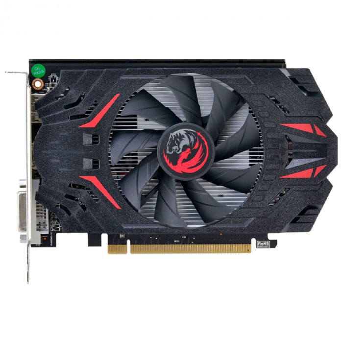 Placa de Vídeo PCYes RX 550 4GB GDDR5 128 Bits Single Fan - PJRX55004128G5SF