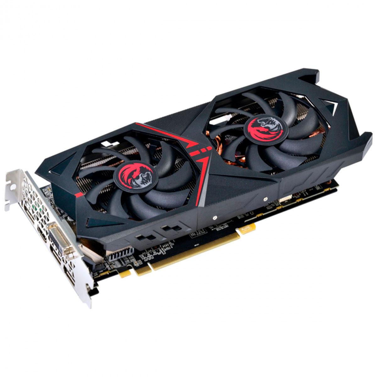 Placa de Vídeo PCYes RX 570 4GB GDDR5 256 Bits Dual Fan - PJRX570G5256