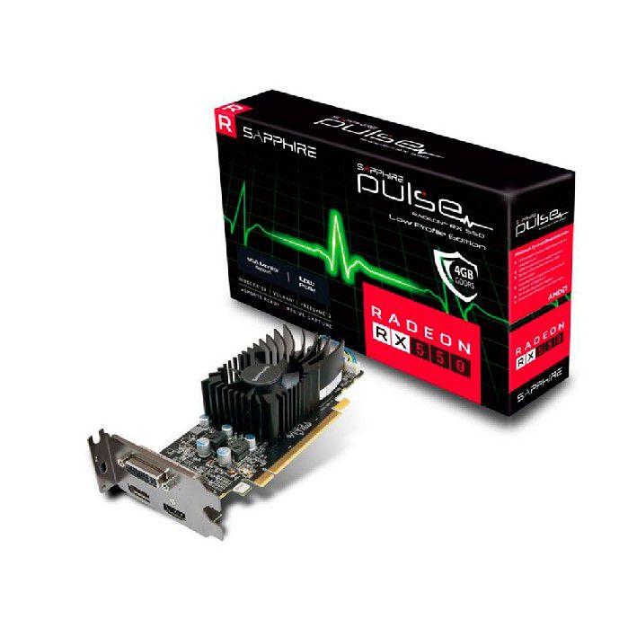 Placa de Video Sapphire Radeon Pulse Rx 550 4gb  Gddr5 128bits - 11268-17-20g