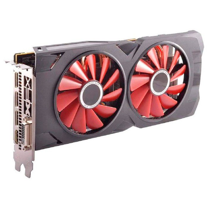 Placa de Vídeo XFX RX 570 8GB XXX Edition DDR5 1286MHz - RX-570P8DFD6