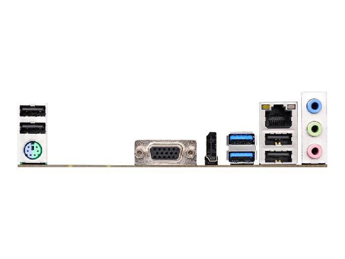 Placa Mãe Asrock H110M-HG4 Socket Intel LGA1151 DDR4 Uatx 6º e 7º Geração