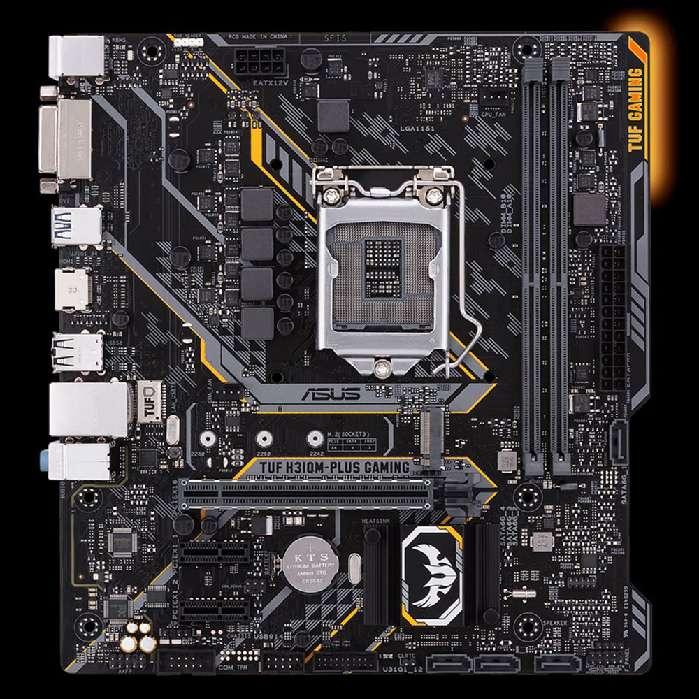 Placa Mãe Asus H310m-plus Tuf Gaming Lga 1151 Ddr4 Matx