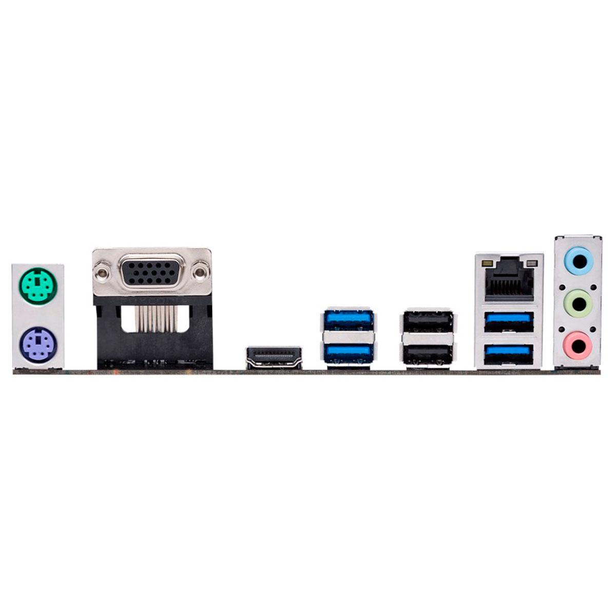 Placa Mãe Asus Prime A320M-K/BR, AMD Socket AM4, DDR4, mATX