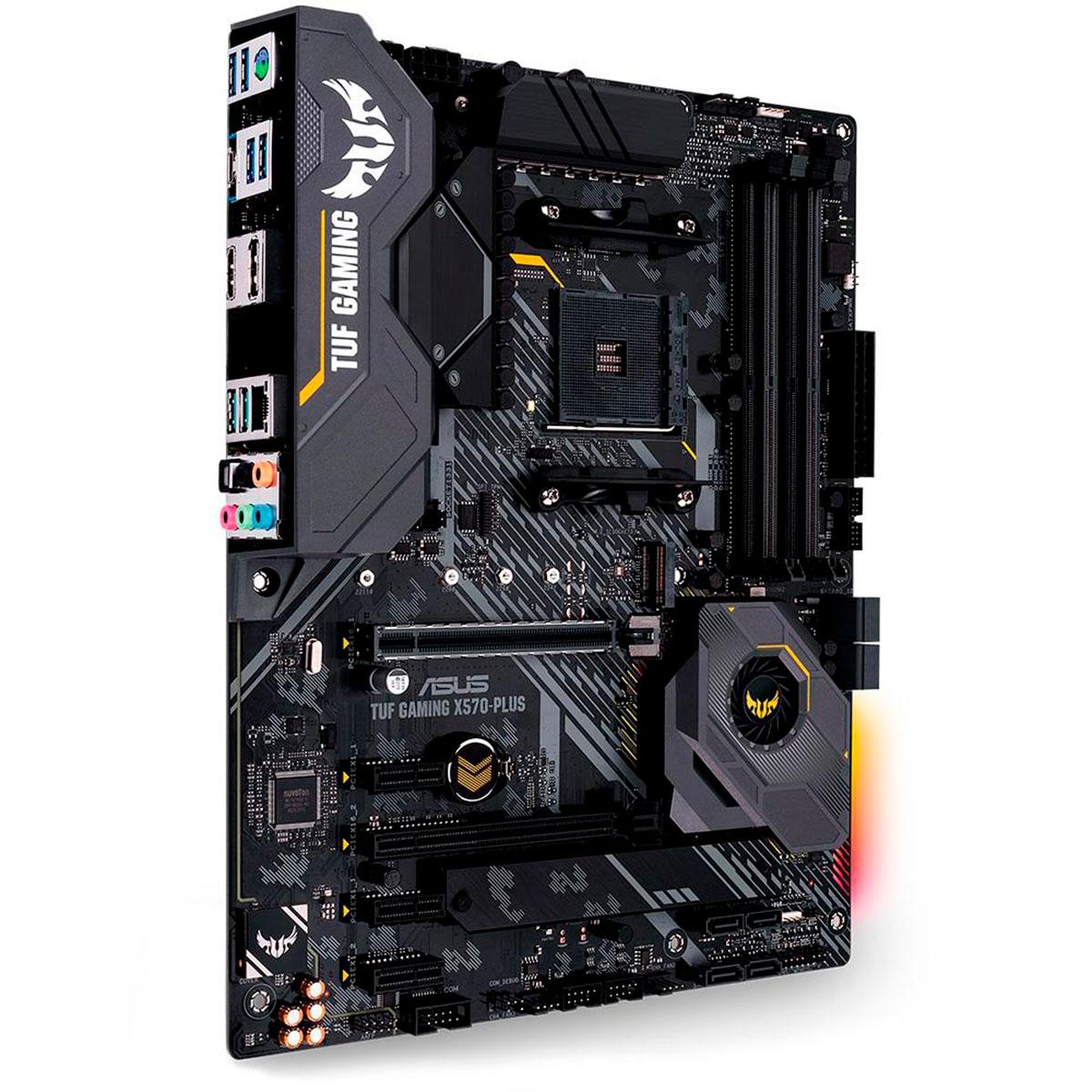 Placa Mãe Asus TUF Gaming X570-PLUS/BR, AMD Socket AM4, DDR4