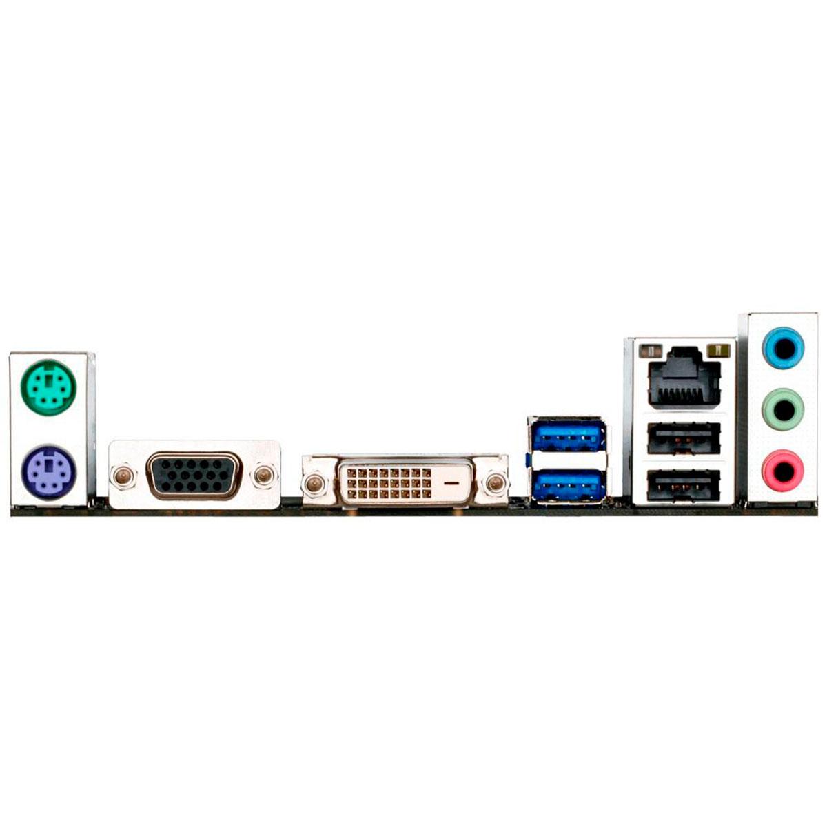 Placa Mãe Gigabyte H110M-S2V, Intel 7ª/6ª Geração, Socket LGA 1151, DDR4