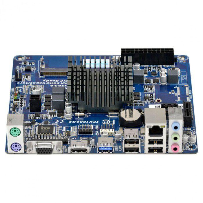Placa Mãe Integrada PCWare IPX1800G2 Intel Celeron J1800 2.41GHz Dual Core DDR3 Mini ITX