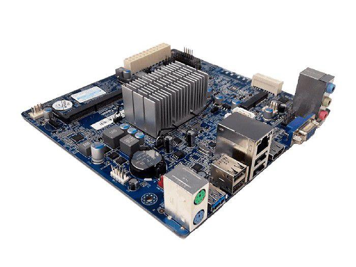 Placa Mãe Integrada PCWare Mini ITX IPX1800E2