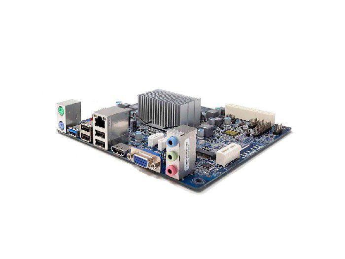 Placa Mãe Integrada PCWare Mini Itx IPX1800E2 Caixa Parda