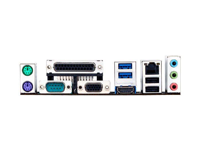 Placa Mãe P/Intel Gigabyte GA-H110M-S2PH DDR4 LGA1151 2xDDR4/1xPcie16x/4xSata3/1xHDMI/4xUSB3.0/Rede