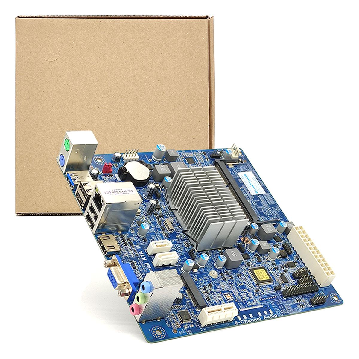 Placa Mãe PCWare IPX1800E2, DDR3/L SO-DIMM, Intel J1800 Integrada, HDMI e m-SATA - OEM