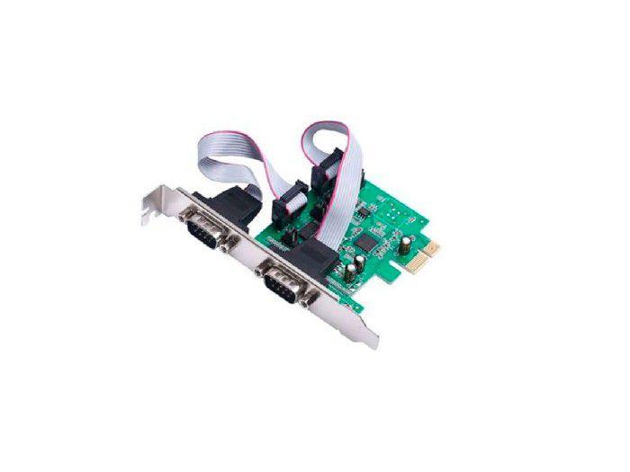 Placa Pci-e Controladora 2-seriais Gv PCI.1037