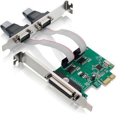 Placa PCI Express Controladora 2 Serial 1 paralela GV