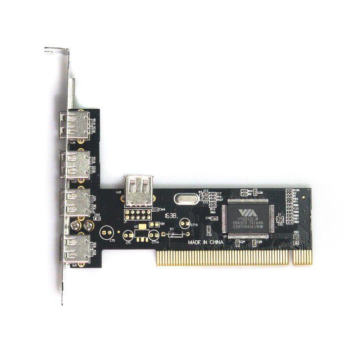 Placa PCI USB 2.0 - 5 Portas - Empire DP-52