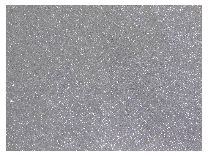 Placas de E.V.A. Com Glitter 1,8 mm, 40 x 60 cm, Contém 05 Placas, Dubflex - Prata