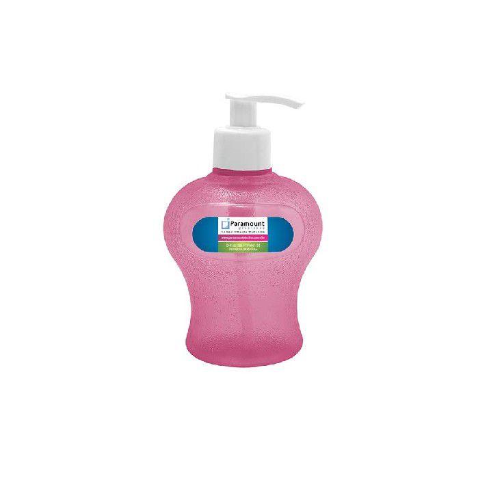 Porta Sabonete Liquido 350 ML Paramount - Rosa - 198