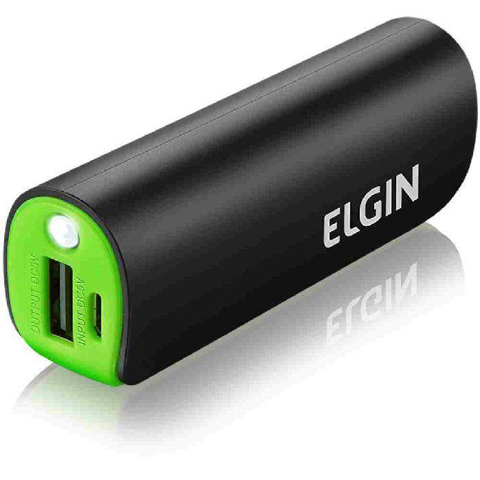 Powerbank Carregador Portátil USB CP 2600 Elgin