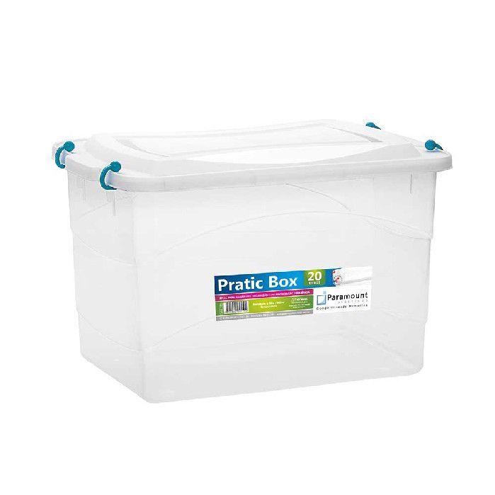 PRATIC BOX PARAMOUNT  VERDE 20LTS/ 41 X 29 X 25 CM - 151