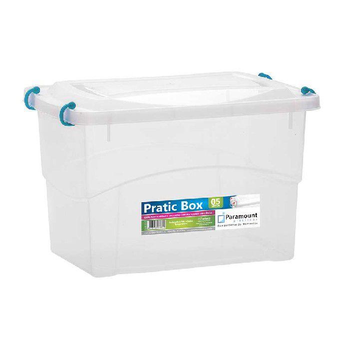 PRATIC BOX PARAMOUNT VERDE 5LTS/ 27 X 18 X 17 - 234