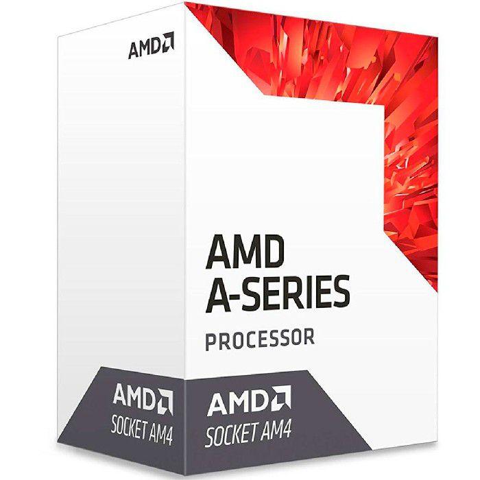 Processador AMD A8 9600 3.1GHz Bristol Ridge (3.4GHz Max Turbo) DDR4 AM4 2MB AD9600AGABBOX