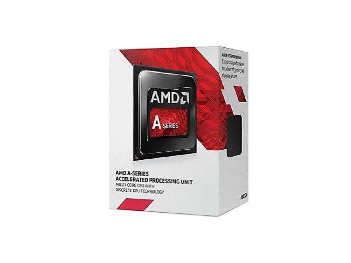 Processador Amd Dual Core A6 7480 3,8ghz Cache 1mb Fm2+ Ad7480acabbox