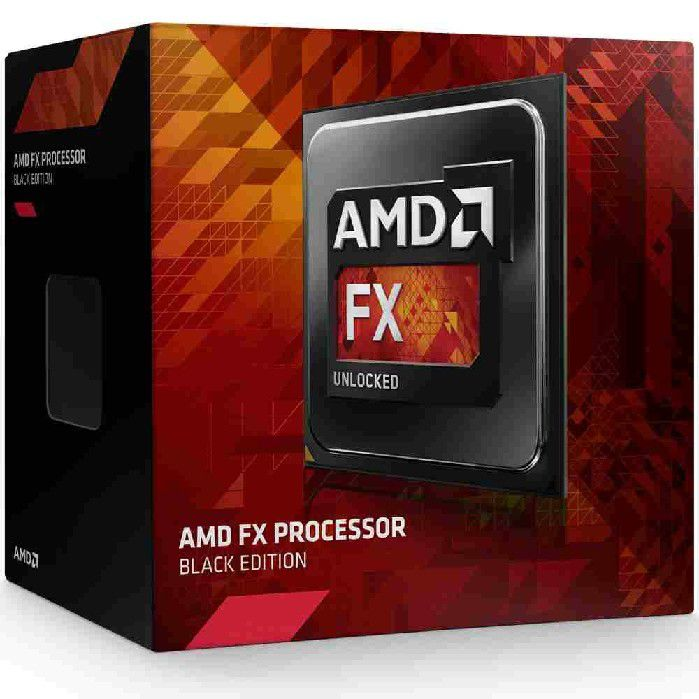 Processador AMD FX 4300 3.8GHz (4GHz Max Boost), 8MB Cache, AM3+ FD4300WMHKBOX