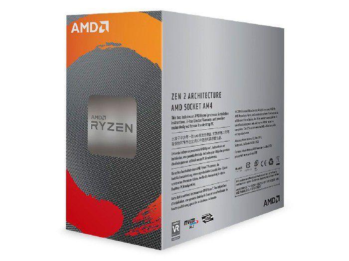 Processador AMD Ryzen 5 3600 3.6 GHz (4.2GHz Max Boost) 32MB Cache DDR4 AM4 - 100-100000031BOX