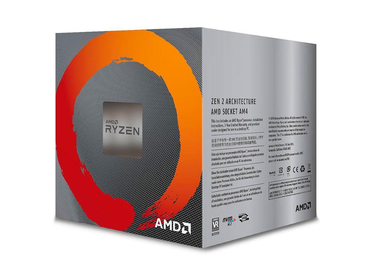 Processador Amd Ryzen 5 3600X 3.8 GHz (4.4GHz Max Turbo) DDR4 AM4 32MB Cache - 100-100000022BOX