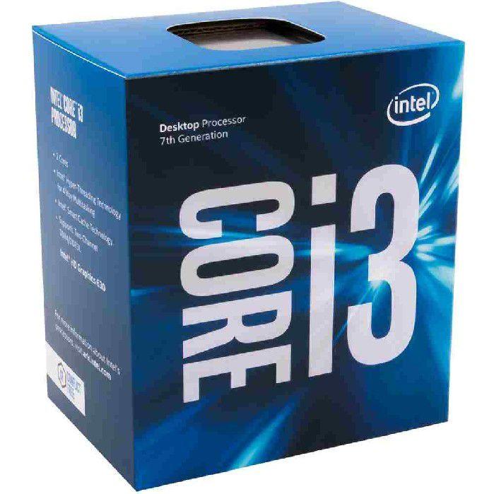 Processador Intel Core i3-7100  Kaby Lake 3.9ghz LGA1151 BX80677I37100