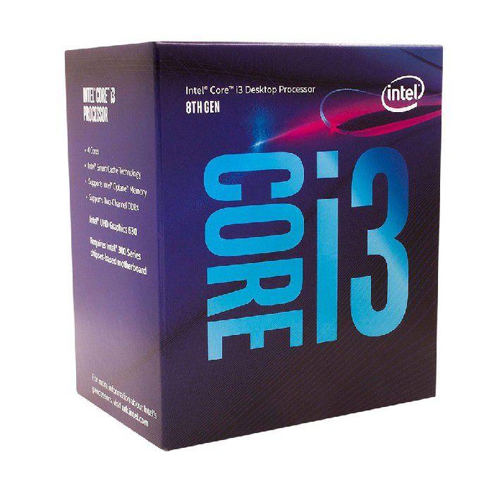 Processador Intel Core I3 8100 3.6ghz 6mb 8ª Geração Coffee Lake 1151