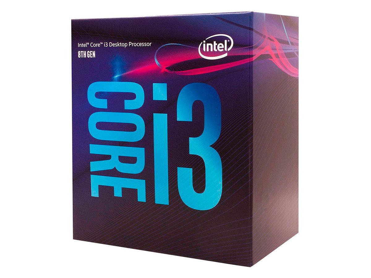 Processador Intel Core I3 8100 3.6ghz 6mb 8ª Geração Coffee Lake 1151 Bx80684i38100