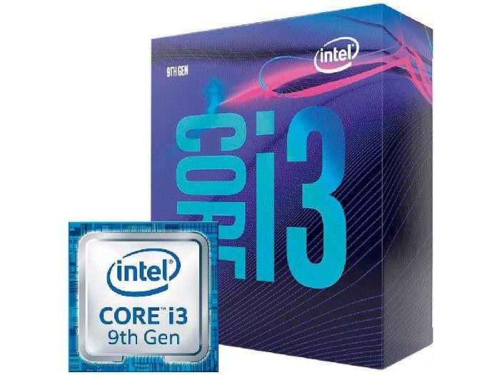 Processador Intel Core I3-9100F 3.6GHz 6MB Lga1151 BX80684I39100F