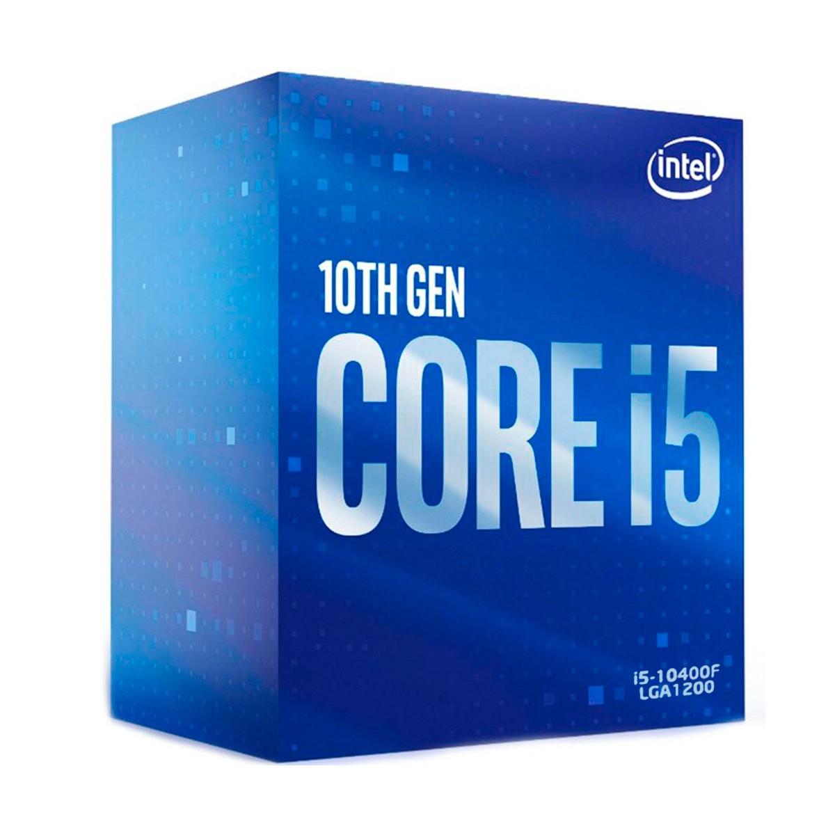 Processador Intel Core I5-10400F 2.90Ghz (4.3Ghz Turbo) Hexa Core LGA1200 12MB Cache - BX8070110400F