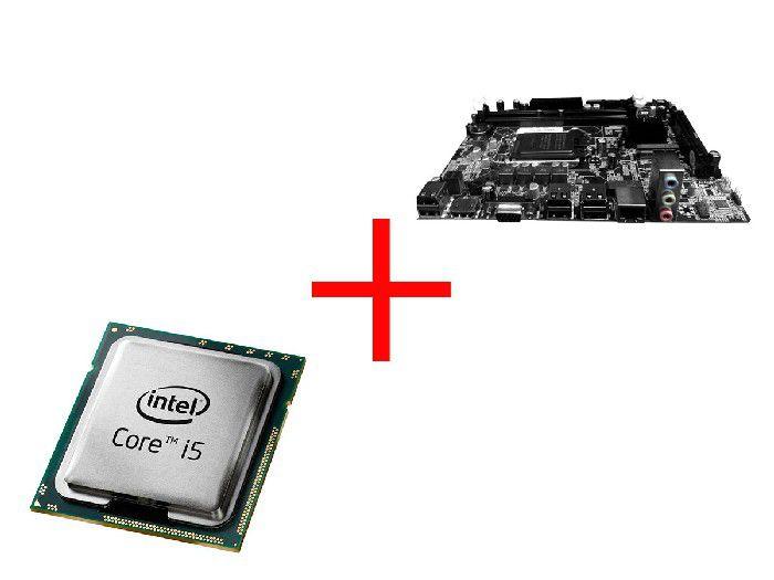 Processador Intel Core I5-650 3.20ghz Lga1156 + Placa Mae Bpc H55m-v1