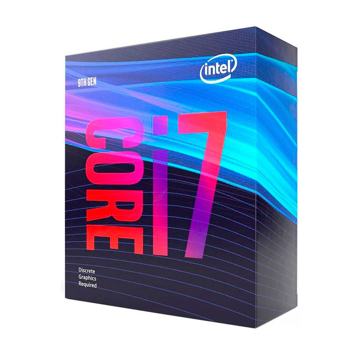Processador Intel Core I7-9700F 3.00GHz (4.70GHz Max Turbo) Cache 12MB LGA 1151 BX80684I79700F