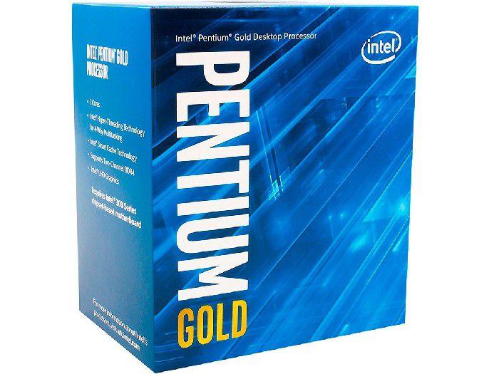 Processador Intel Pentium Gold G5400 Dual Core 3.70 GHz LGA1151 Cache 4 MB Box BX80684G5400