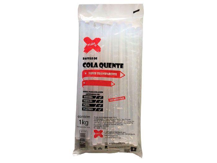 Refil Cola Quente Grossa 01 kg Make+ - 9362