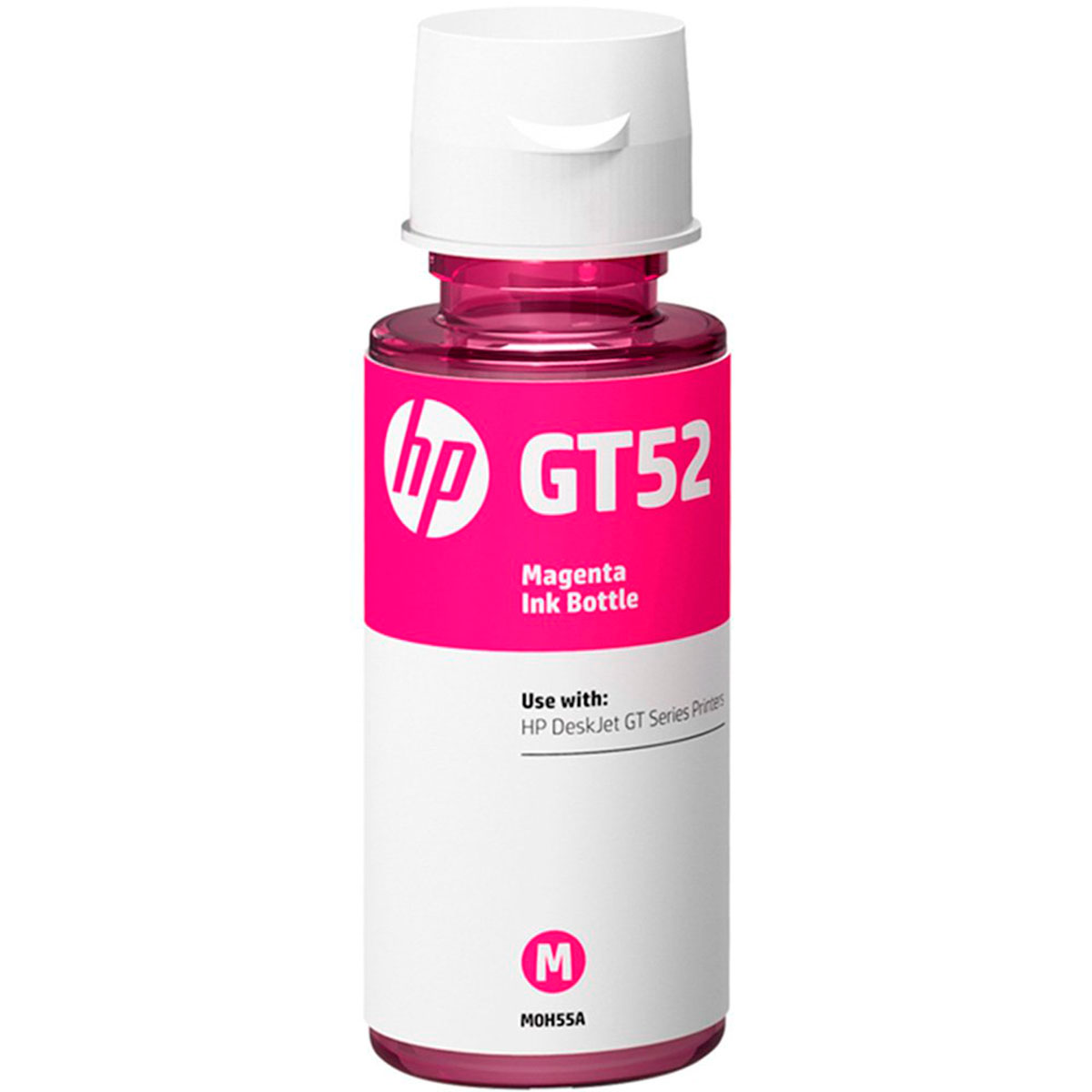 Refil de Tinta HP GT52, Magenta, 70ml, Para Impressora HP Deskjet GT 5822 - M0H55AL