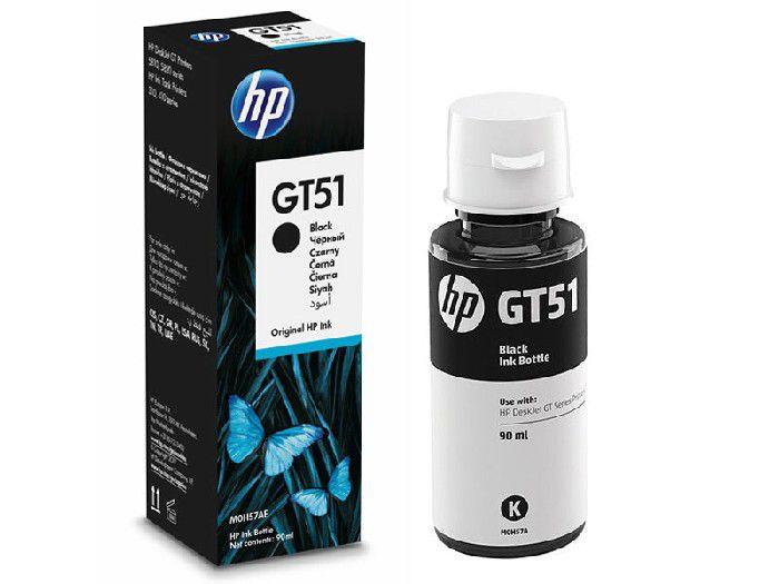 Refil HP Inc GT51 Preto 90ml M0H57AL