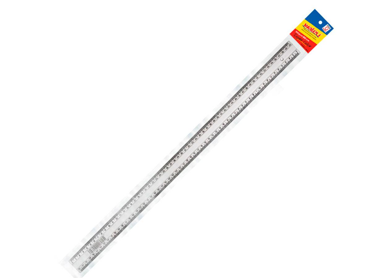 Régua Super Cristal 60cm, Pct. C/ 10 Unidades - Waleu - 10270035