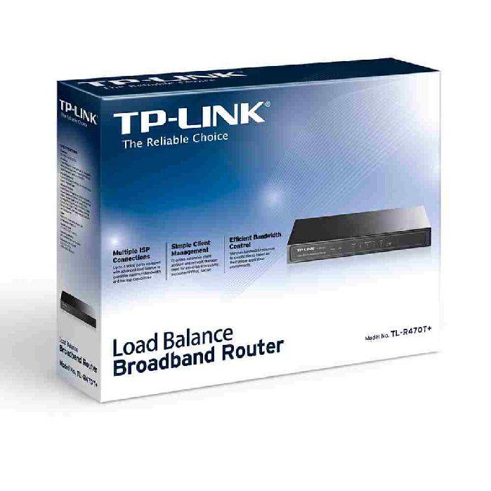 Roteador TP-Link Load Balance Broadbalance TL-R470T+