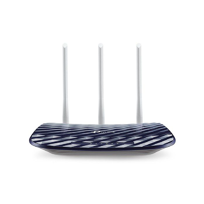 Roteador TP-Link Wireless 300/433Mbps Dual Band Archer C20 AC750  3 Antenas