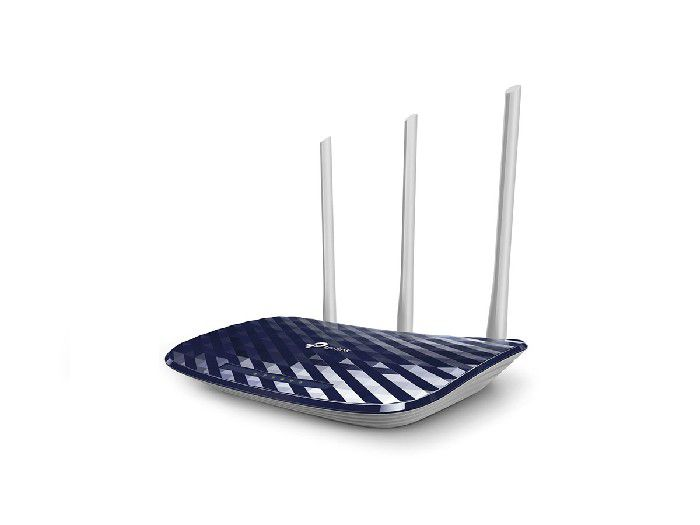 Roteador Wireless 300/433mbps Dual Band Tp-link Archer C20 (w) AC750 C/3-ant.fixa