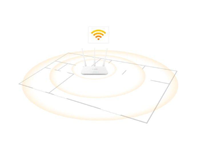 Roteador Wireless 300Mbps Tenda F3 C/3-Antenas