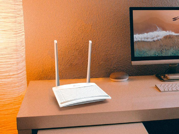 Roteador Wireless 300mbps Tp-link TL-WR820N C/2 antenas ext.fixa 5dbi Ipv6