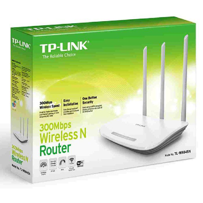 Roteador Wireless 300Mbps TP-Link TL-WR845N