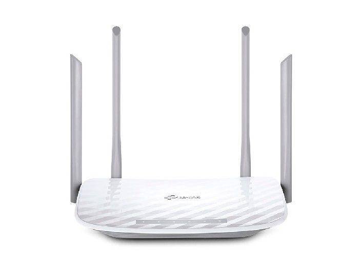 Roteador Wireless Dual Band Tp-link Archer C5 Ac1200 Gigabit C/4-antenas Movel